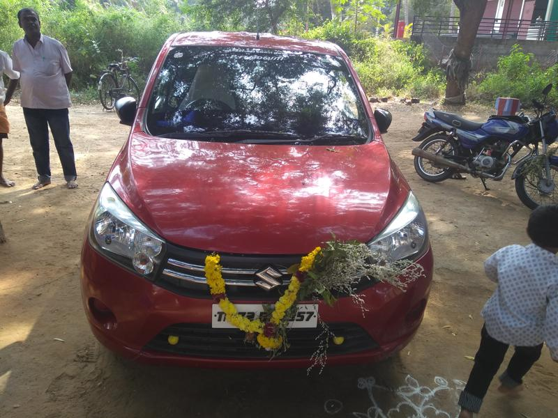 Used 2015 Maruti Suzuki Celerio Car In Coimbatore