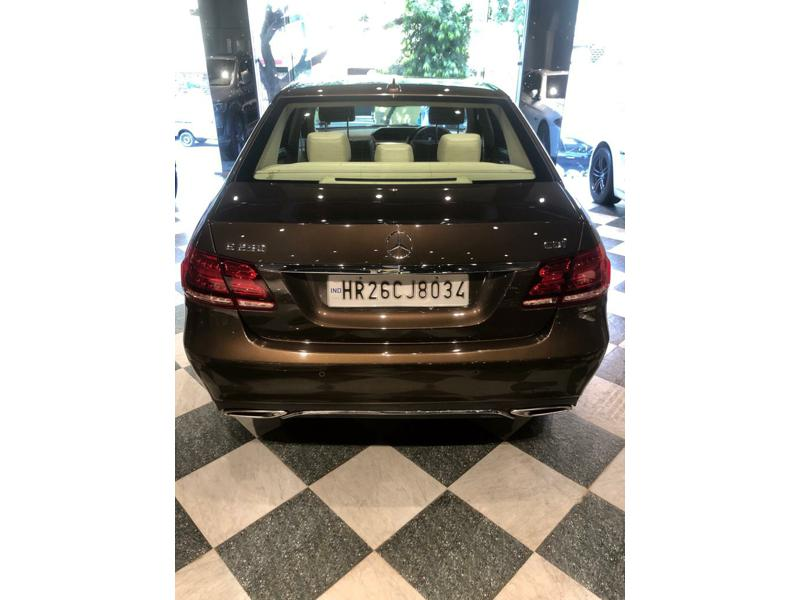 Used 2014 Mercedes Benz E Class Car In Faridabad