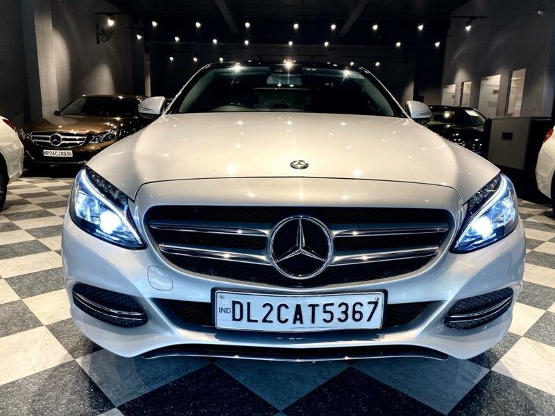 Used 2015 Mercedes Benz C Class Car In Faridabad