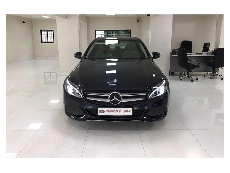 Used 2016 Mercedes Benz C Class Car In Pune