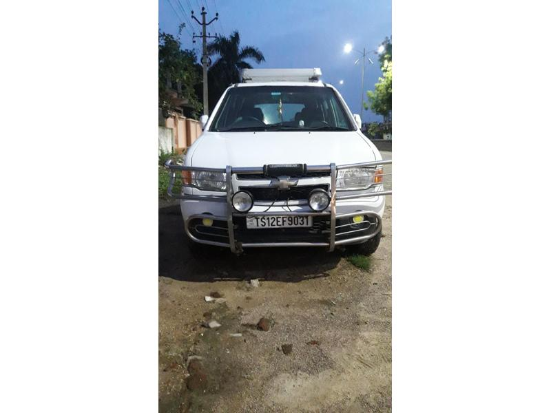 Used 2013 Chevrolet Tavera Car In Nizamabad