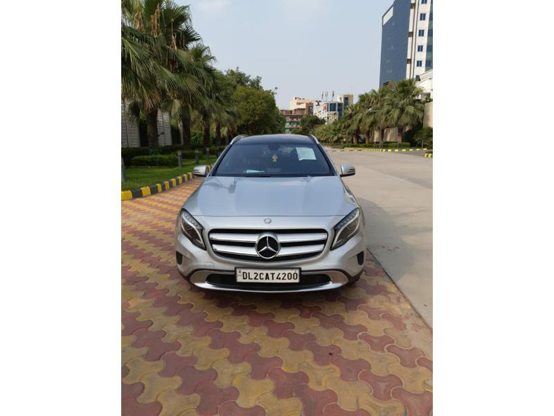 Used 2014 Mercedes Benz GLA Class Car In Faridabad