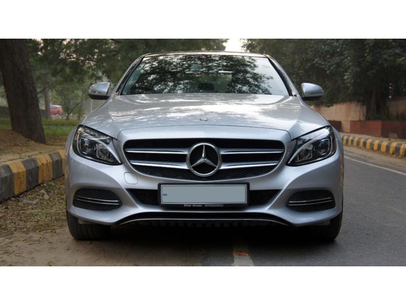 Used 2015 Mercedes Benz C Class Car In Chandigarh