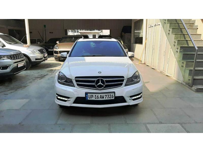 Used 2014 Mercedes Benz C Class Car In Faridabad
