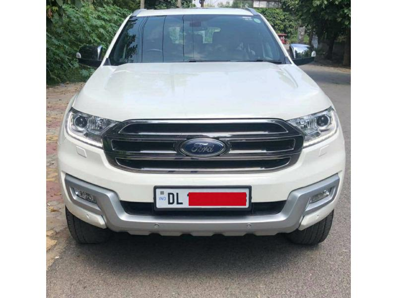 Used 2016 Ford Endeavour Car In New Delhi