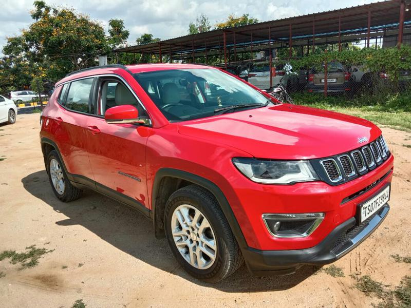 Used 2018 Jeep Compass Car In Hyderabad