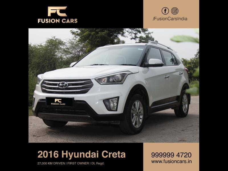Used 2016 Hyundai Creta Car In Ghaziabad