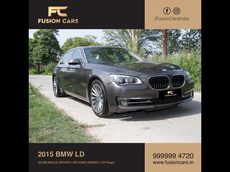 Used 2015 BMW 7 Series Car In Faridabad