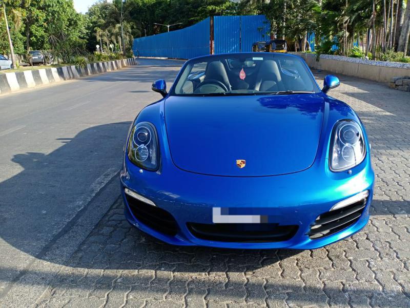 Used 2015 Porsche Boxster Car In Mumbai