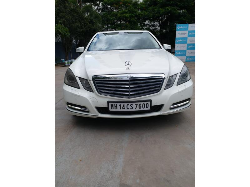 Used 2011 Mercedes Benz E Class Car In Pune
