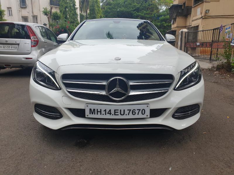 Used 2015 Mercedes Benz C Class Car In Mumbai