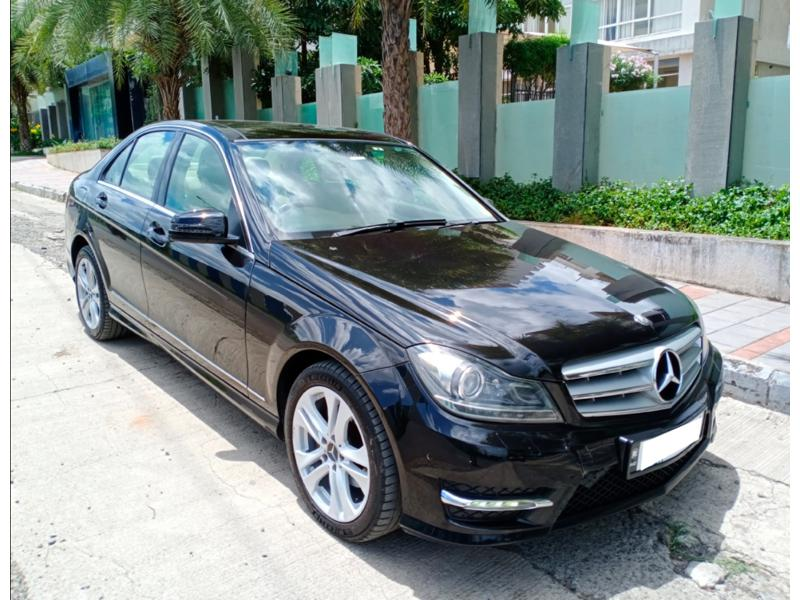 Used 2014 Mercedes Benz C Class Car In Pune