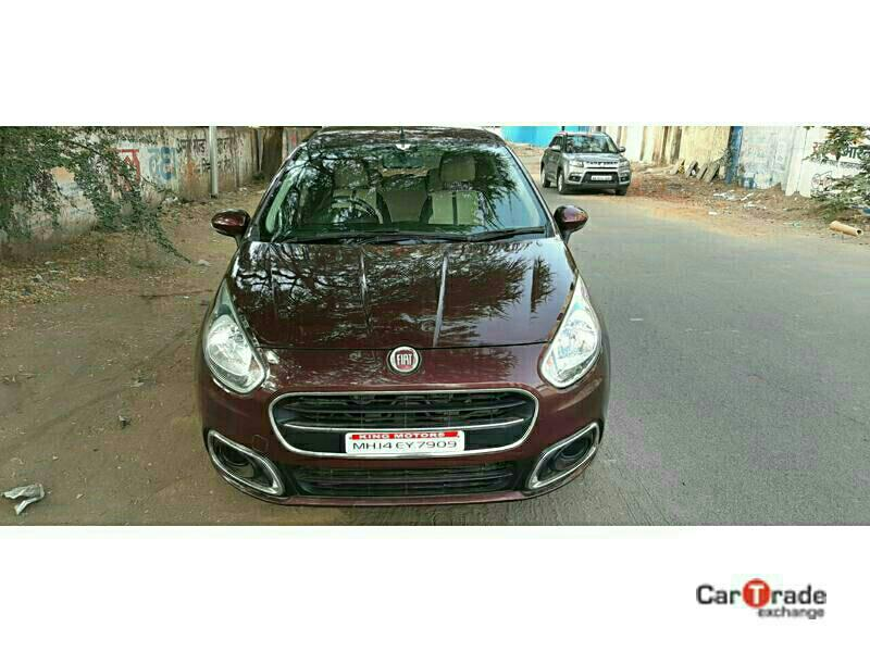 Used 2015 Fiat Punto Pure Car In Parbhani