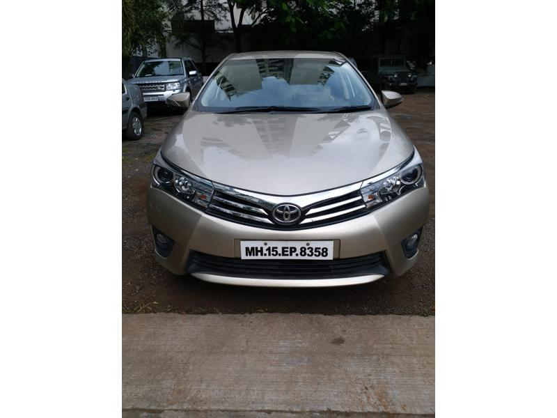 Used 2015 Toyota Corolla Altis Car In Pune