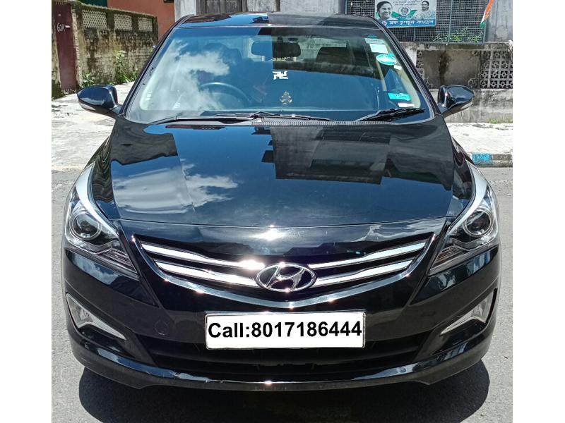 Used 2015 Hyundai Verna Car In Kolkata