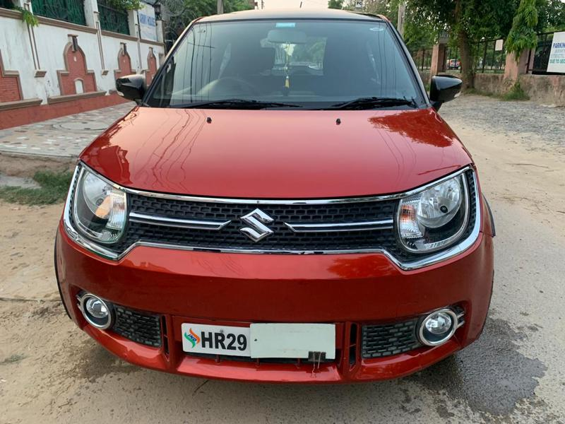 Used 2019 Maruti Suzuki Ignis Car In Gurgaon