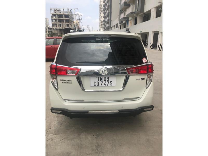 Used 2018 Toyota Innova Crysta Car In Chennai
