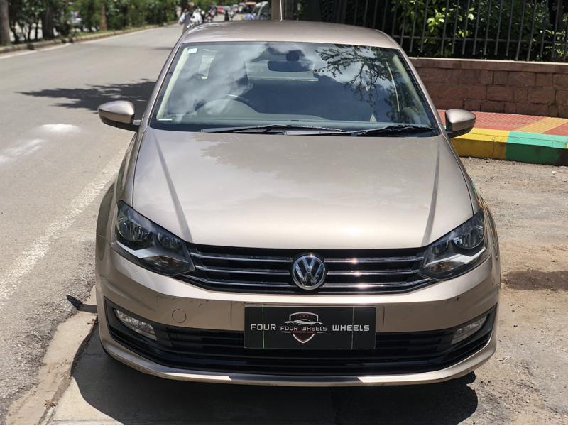 Used 2017 Volkswagen Vento Car In Bangalore