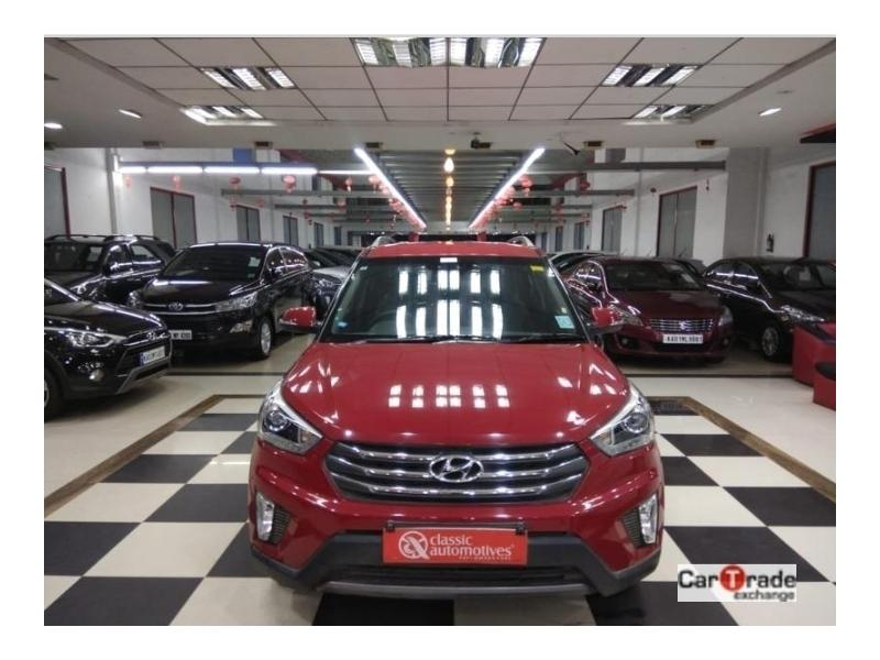 Used 2016 Hyundai Creta Car In Bijapur