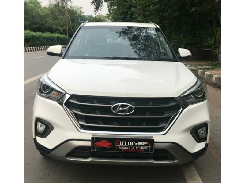 Used 2018 Hyundai Creta Car In New Delhi