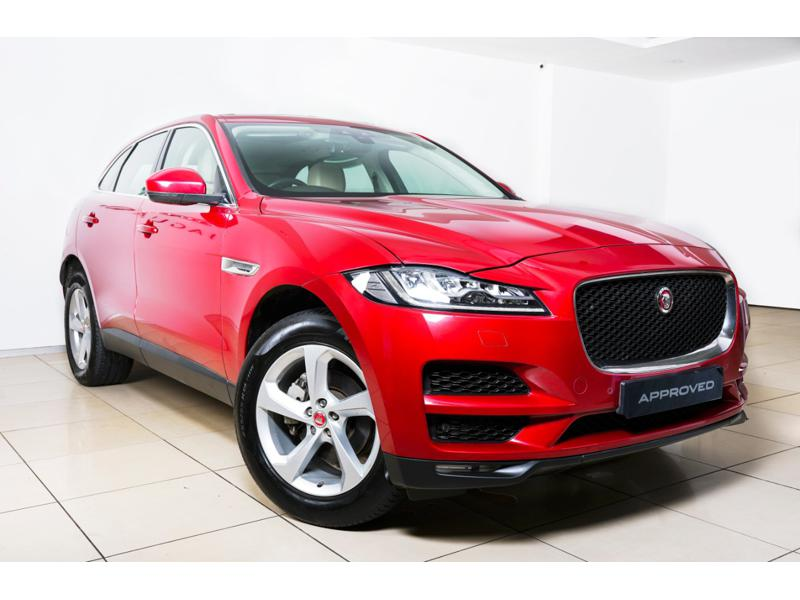 Used 2018 Jaguar F Pace Car In Satara