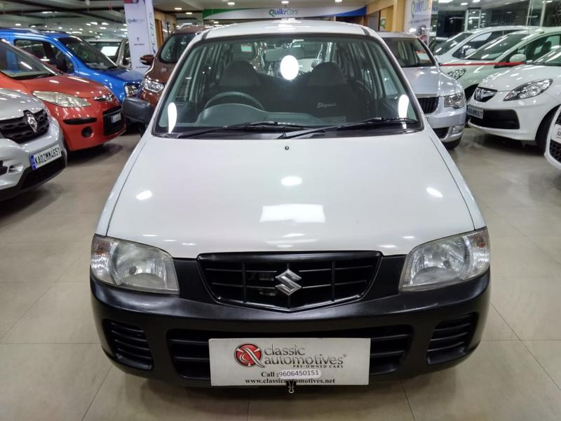 Used 2010 Maruti Suzuki Alto Car In Bellary