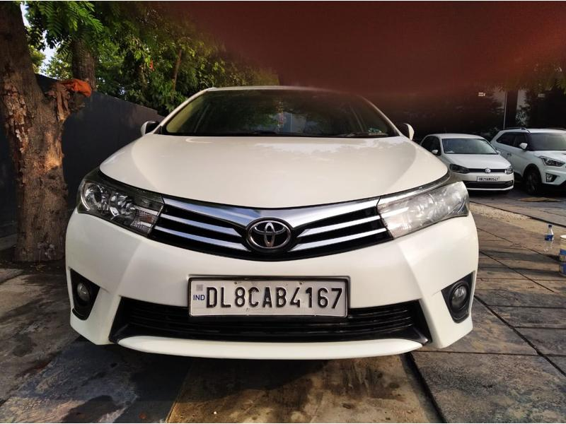 Used 2015 Toyota Corolla Altis Car In Ghaziabad