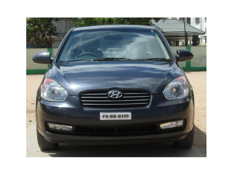 Used 2009 Hyundai Verna Car In Coimbatore