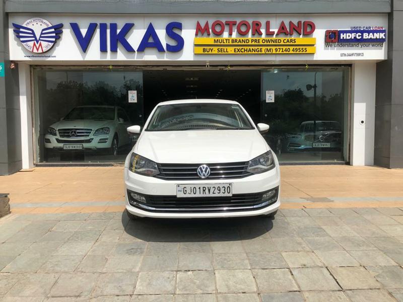 Used 2016 Volkswagen Vento Car In Ahmedabad