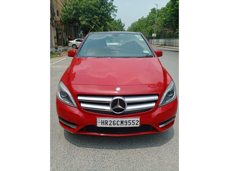 Used 2015 Mercedes Benz B Class Car In New Delhi