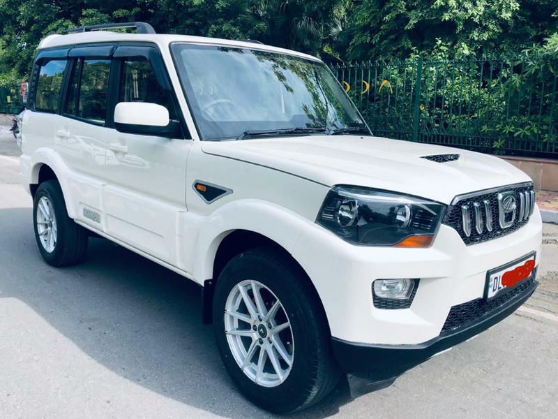 Used 2016 Mahindra Scorpio Car In New Delhi