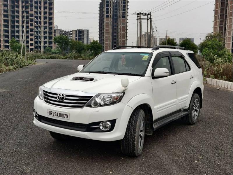 Used 2015 Toyota Fortuner Car In Faridabad