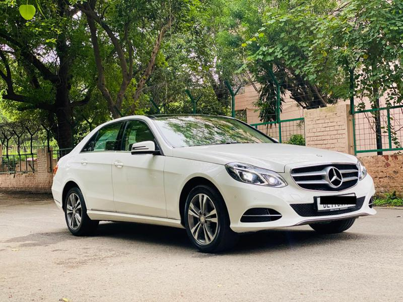 Used 2015 Mercedes Benz E Class Car In Gurgaon