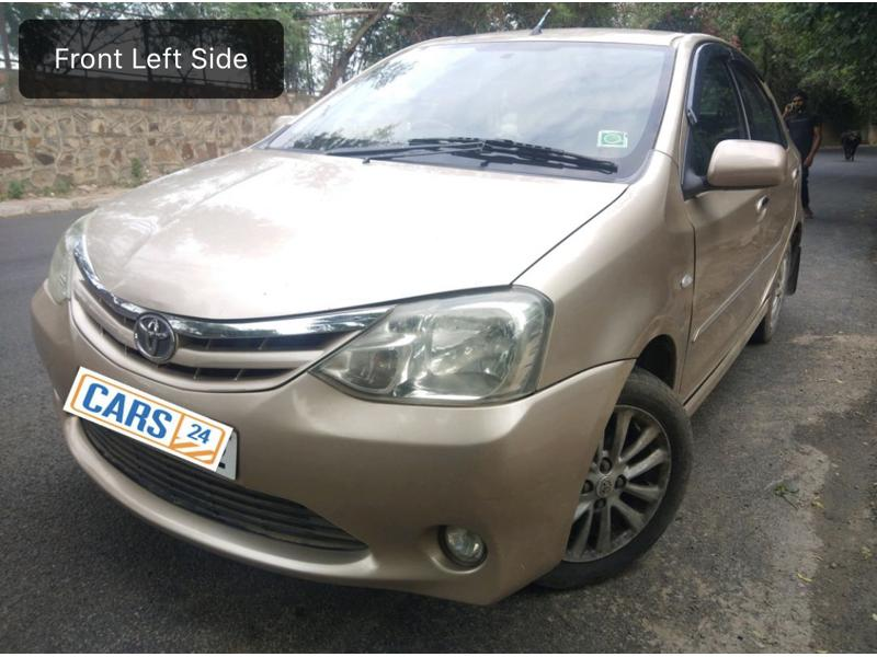 Used 2011 Toyota Etios Car In New Delhi