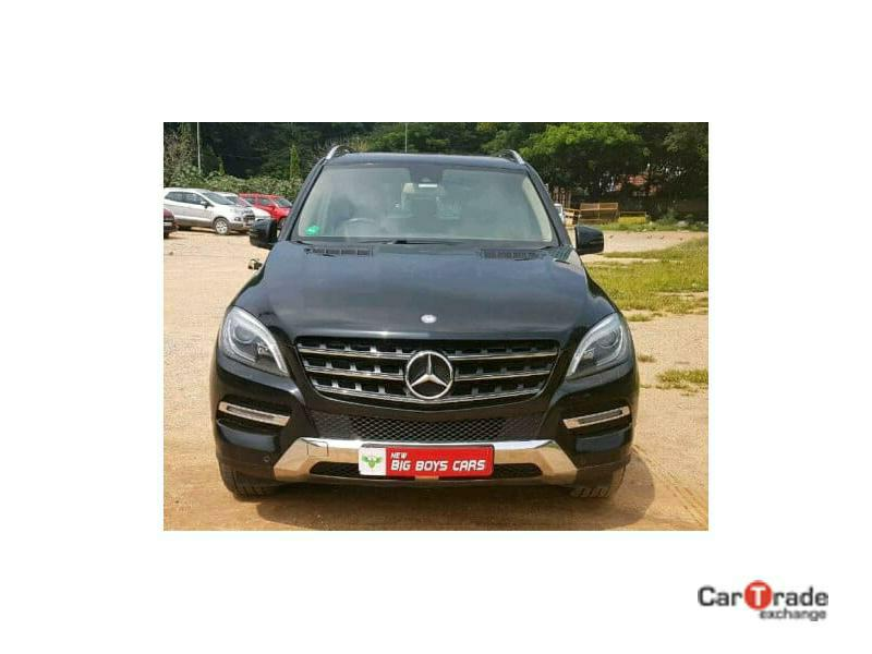 Used 2014 Mercedes Benz M Class Car In Bangalore