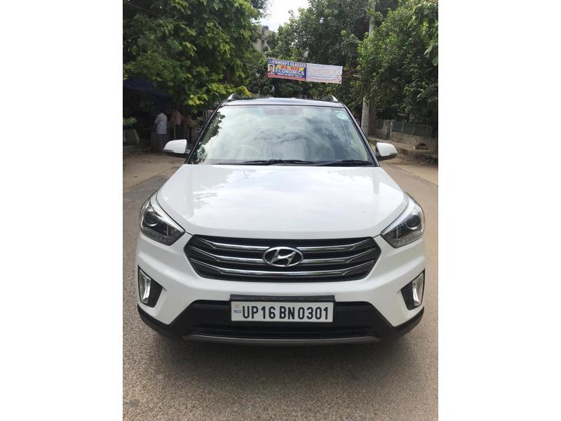 Used 2017 Hyundai Creta Car In Gurgaon