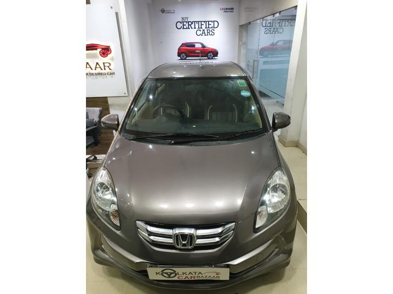 Used 2015 Honda Amaze Car In Kolkata