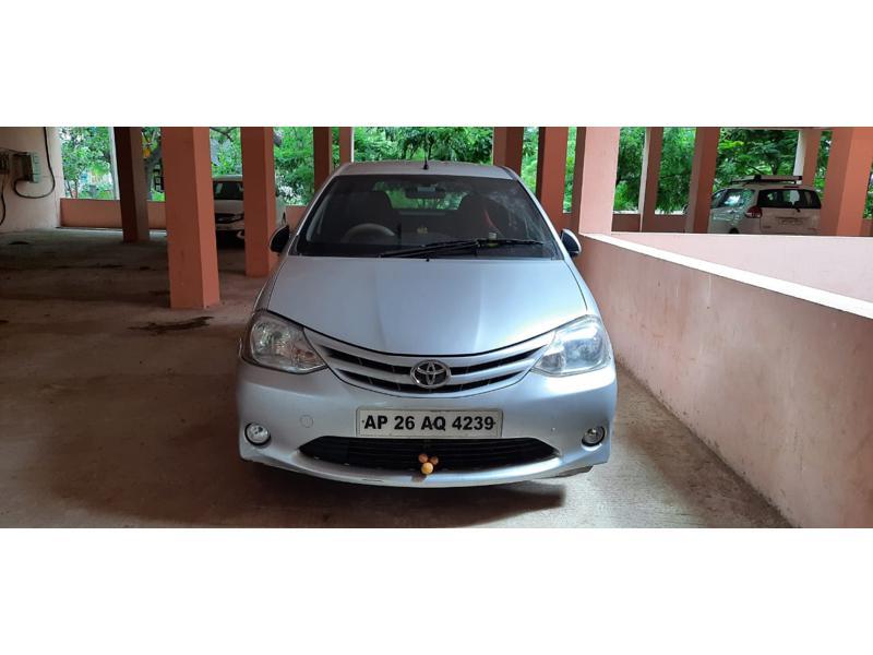 Used 2012 Toyota Etios Liva Car In Nellore