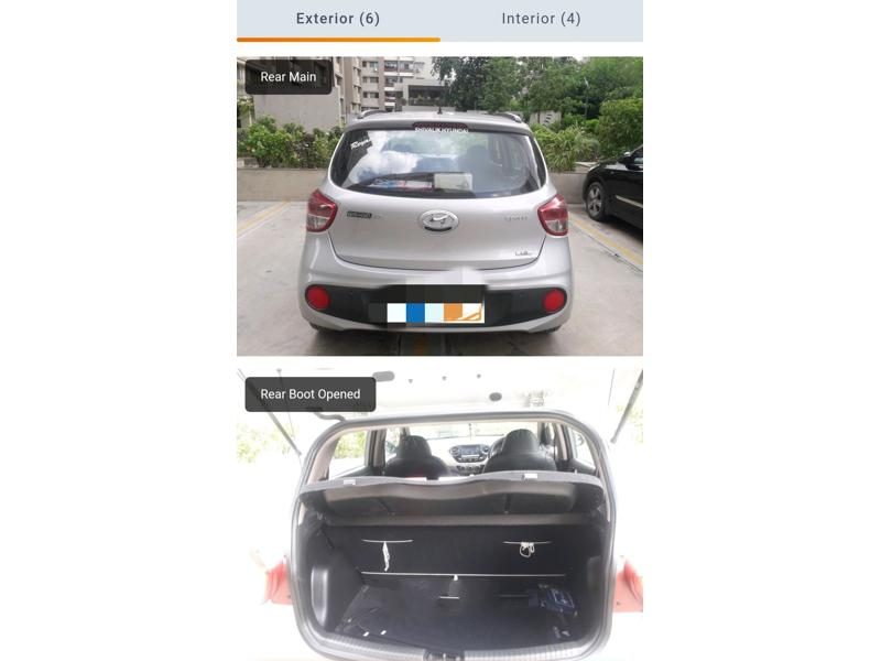 Used 2017 Hyundai Grand i10 Car In Ahmedabad