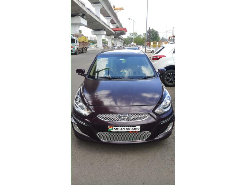 Used 2012 Hyundai Verna Car In Nagpur