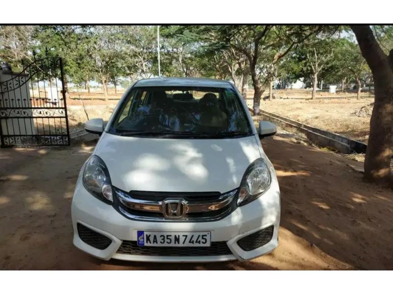 Used 2016 Honda Amaze Car In Bangalore