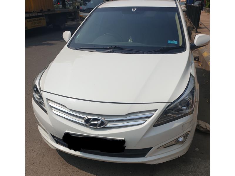Used 2015 Hyundai 4S Fluidic Verna Car In Navi Mumbai