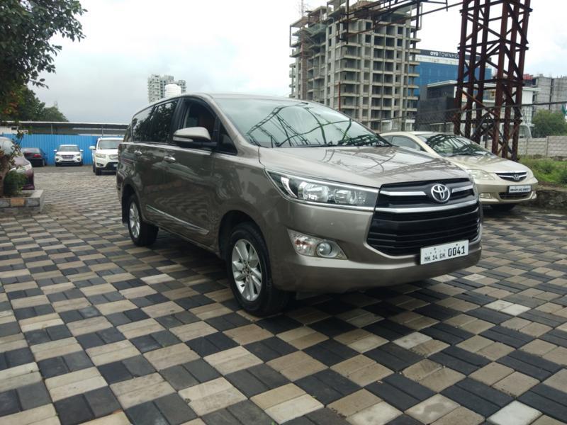 Used 2017 Toyota Innova Crysta Car In Pune
