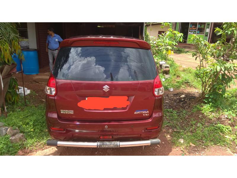 Used 2012 Maruti Suzuki Ertiga Car In Udupi
