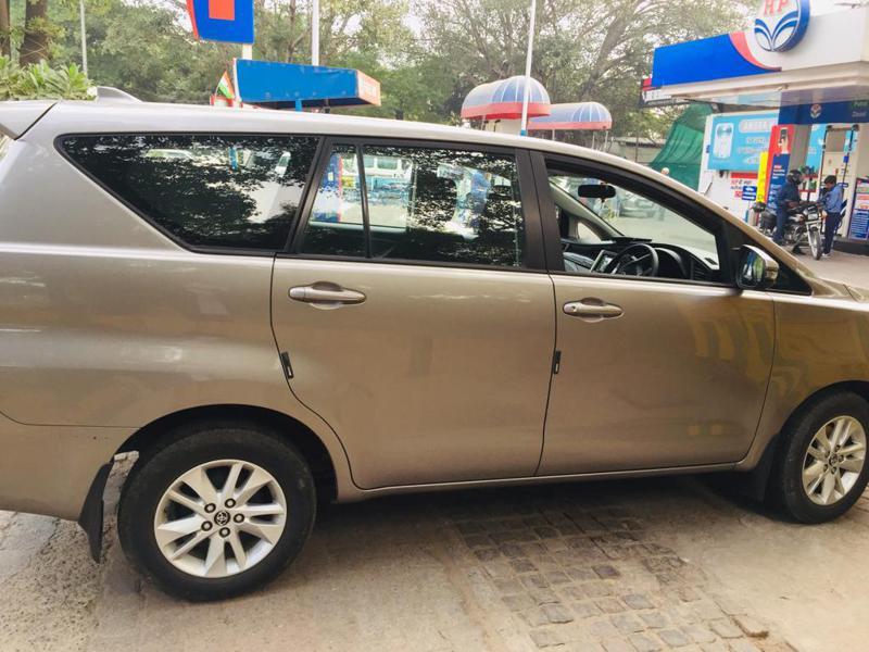 Used 2018 Toyota Innova Crysta Car In Shimla