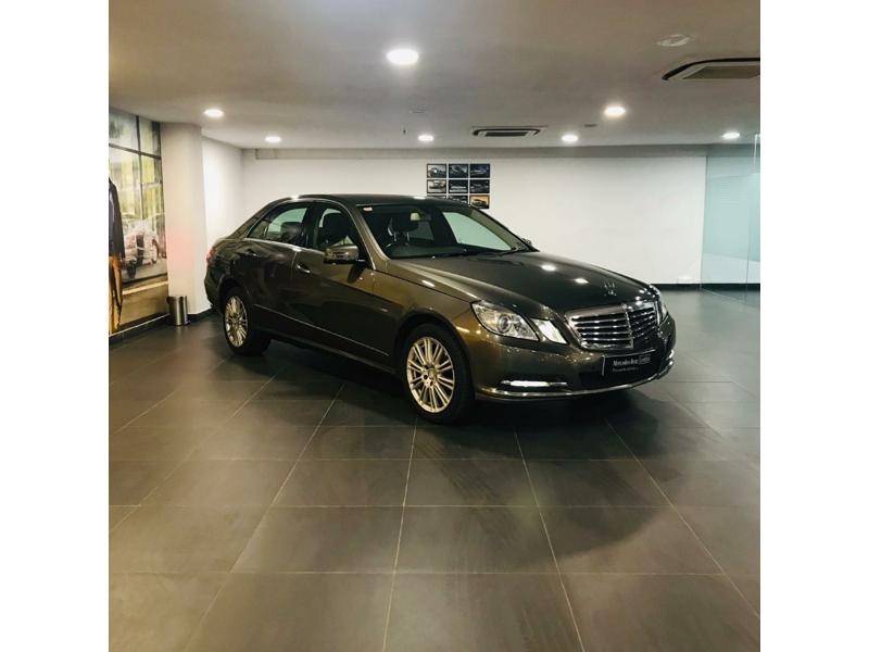 Used 2012 Mercedes Benz E Class Car In Kasaragod