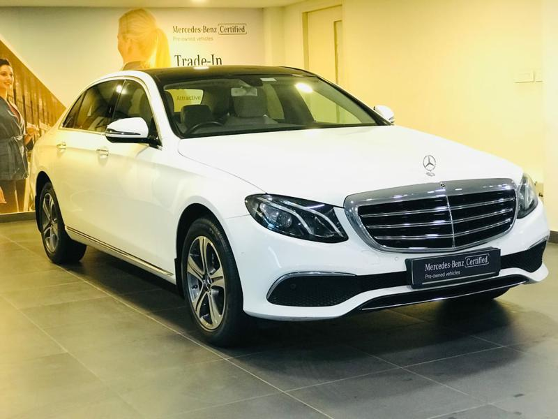 Used 2019 Mercedes Benz E Class Car In Kasaragod