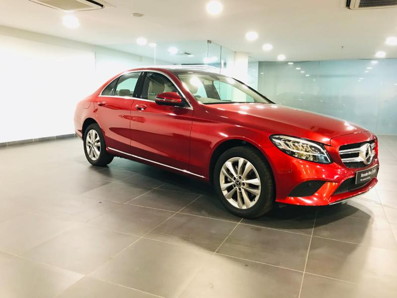 Used 2019 Mercedes Benz C Class Car In Kasaragod
