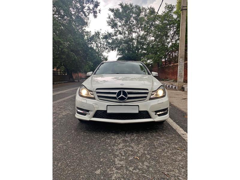 Used 2014 Mercedes Benz C Class Car In New Delhi