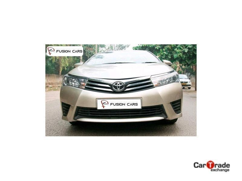 Used 2015 Toyota Corolla Altis Car In Faridabad